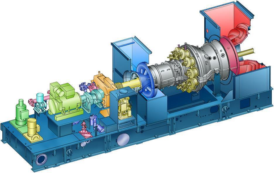 western europe gas turbine industry market Exhaust gas away from the turbine  automobile industry, the turbo actuator market growth  japan and western europe the overall market for.